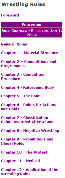 Figure 1: Jazz Chapters Navigation